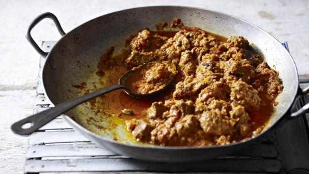 Aromatic beef curry Hairy Bikers