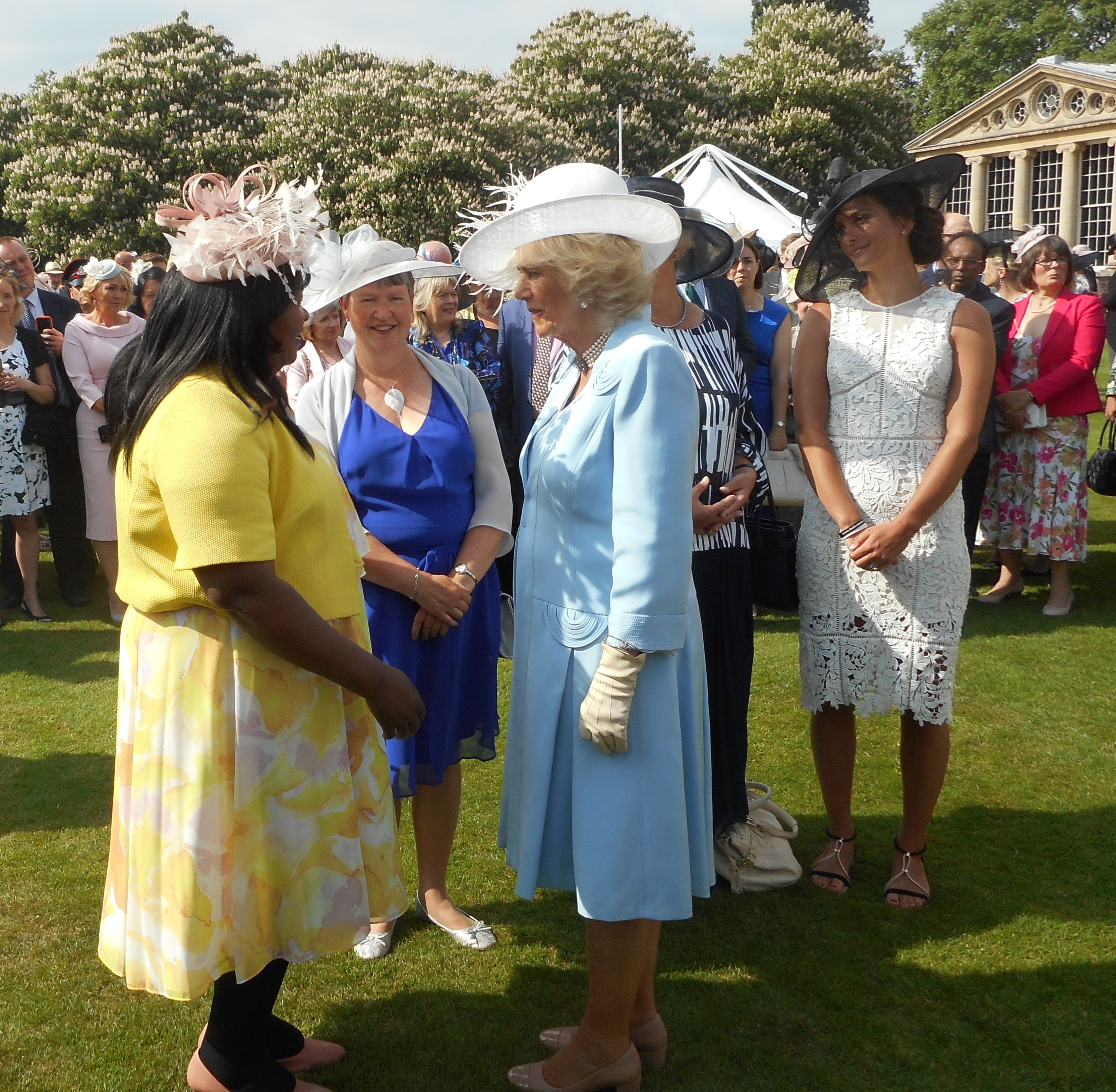 Meeting the Duchess of Cornwall
