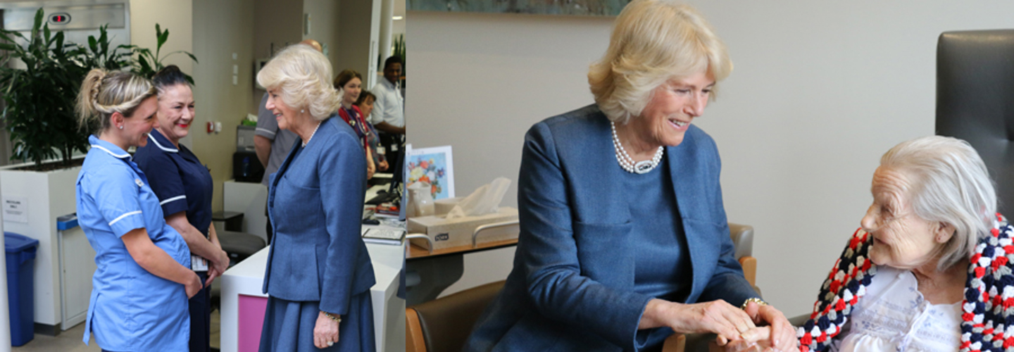 The Duchess of Cornwall visits Trinity to mark 125th anniversary