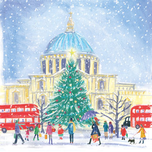 St Pauls' Charity Christmas Cards 10 Pack £3.99