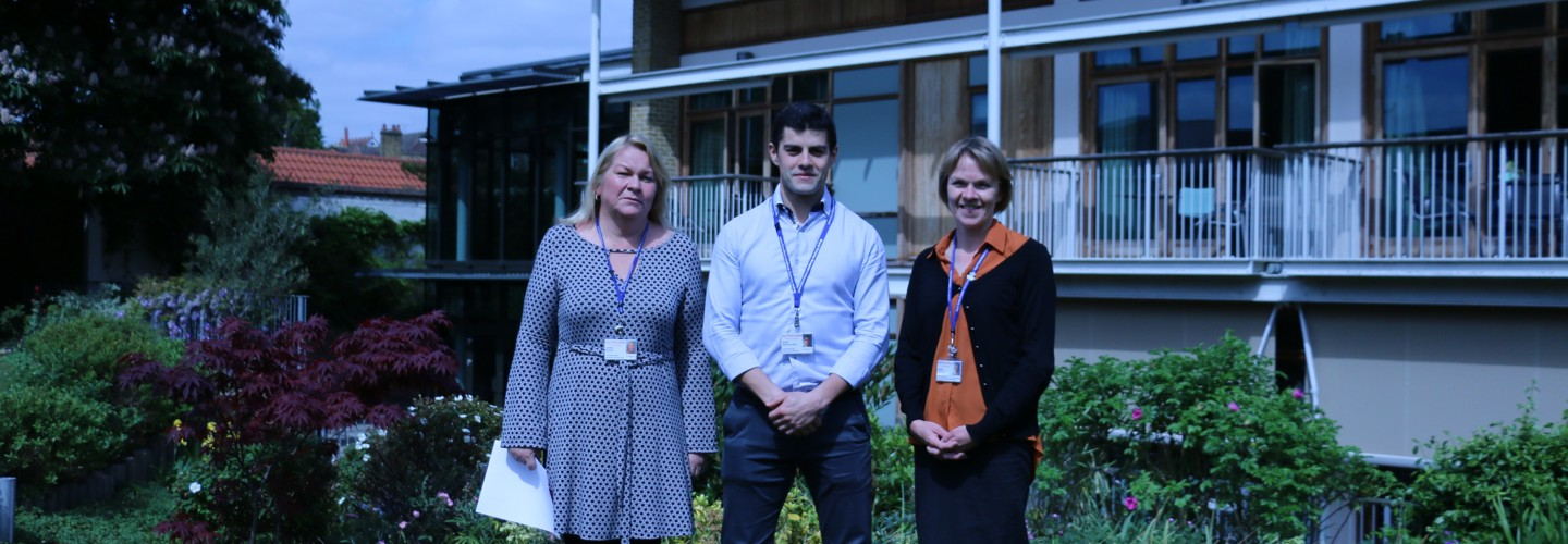 Trinity dementia team nominated for RCNi award