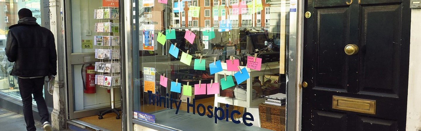 Dying Matters Week shops messages
