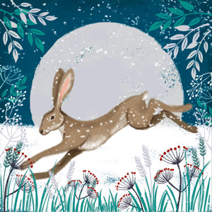 Hare Christmas Charity Cards 10 Pack £3.99