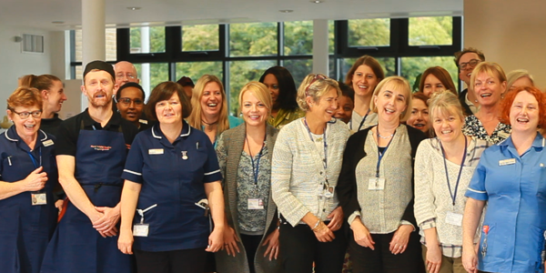 Royal Trinity Hospice staff