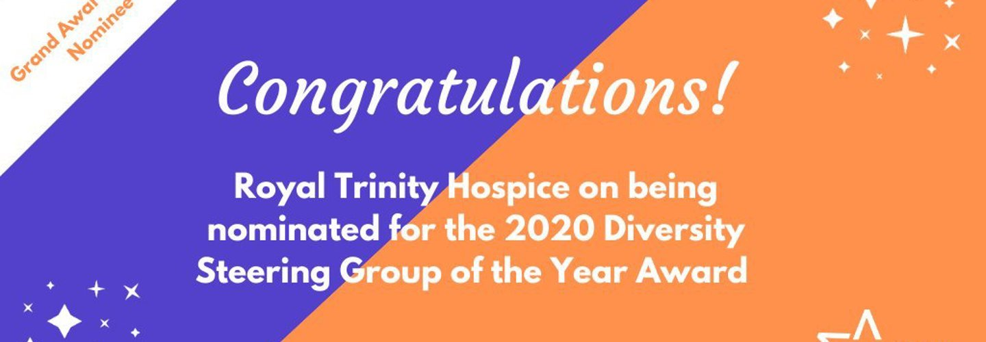 Royal Trinity Hospice and CEO nominated for diversity and inclusion awards