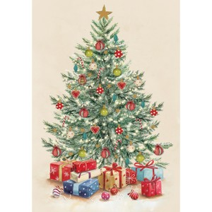 Christmas Tree Charity Christmas Cards 10 Pack £3.99
