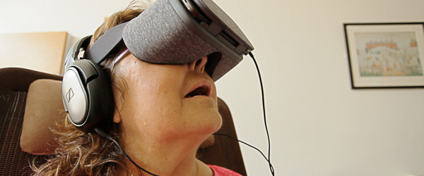 New study into Virtual Reality in palliative care published